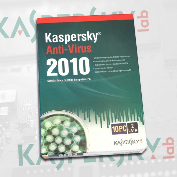 Kaspersky Anti-Virus 2010 (10 PC, 2 lata)